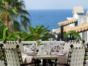 Artemis restaurant Knossos Royal
