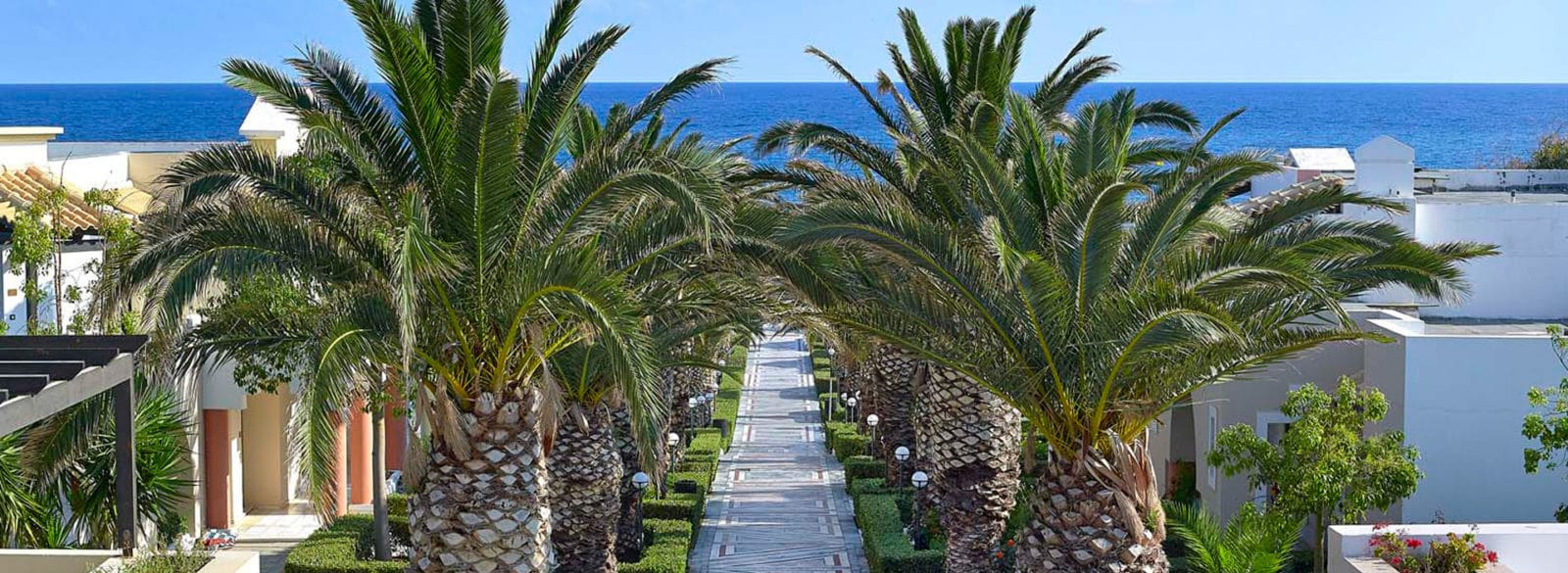 Exterior Knossos Royal 5-star Knossos Royal Beach Resort in Crete | Book Hotel rooms online