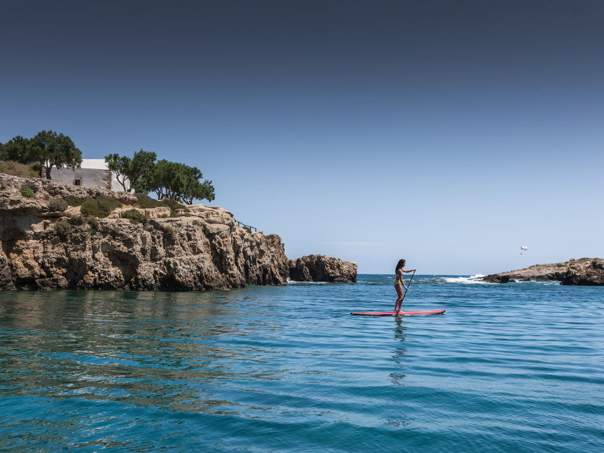 Paddle Surfing Knossos Royal